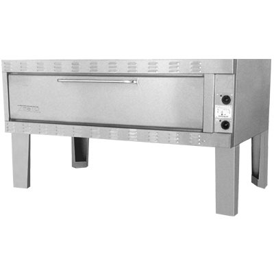 """ZESTO 1503SS DECK PIZZA / BAKE OVEN ELECTRIC (72""""L X 36""""D) SS"""