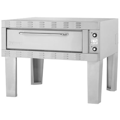 "ZESTO 902SS DECK PIZZA / BAKE OVEN ELECT 48""L X 36"" SPACE SAVE"