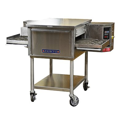 ZESTO CE2418 CONVEYOR PIZZA / BAKE OVEN ELECTRIC WITH STAND