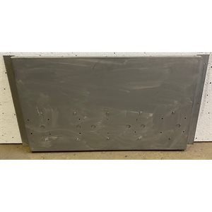 CONVEYOR OVEN METAL BACK ASSEMBLY FOR 3018